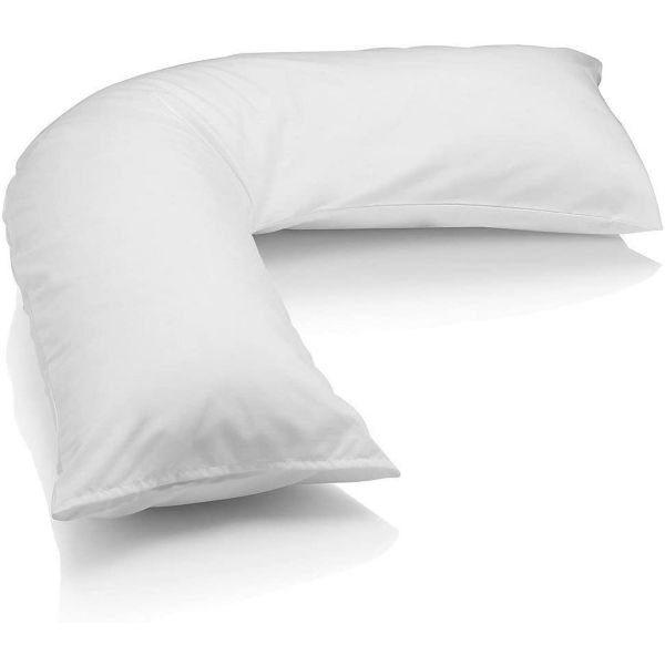 Regal In House V Shaped Pillow Microfiber - 90*50 cm - White