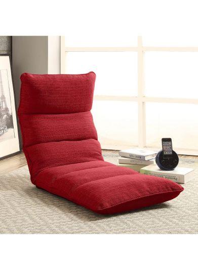 كرسي الرحلات والتخييم قابل للطي مع مخدة ظهر متحركة متعدد الألوان - موديل 2
