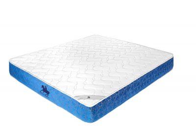 وتين مرتبة سرير متعددة الطبقات بخاصية النوابض - أبيض /أزرق