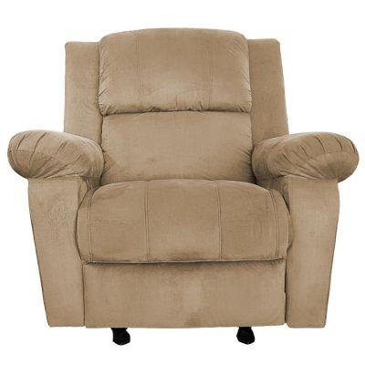 كرسي راحة كهربائي ، هزاز و دوار ، منجد ، ظهر قابل للتحكم ، متعدد الالوان
