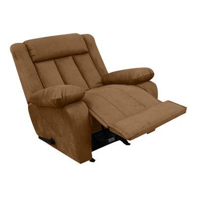 كرسي استرخاء إن هاوس ، هزاز و دوار ، ظهر قابل للتحكم ، متعدد الأوان
