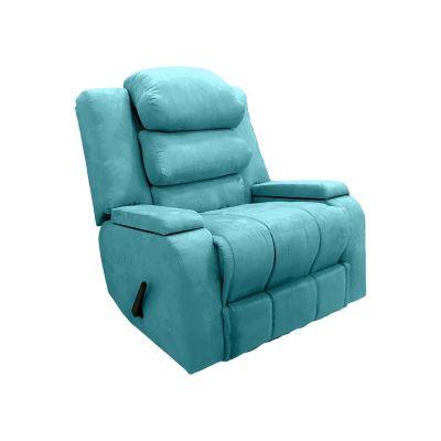 كرسي راحة ، هزاز و دوار ، منجد ، ظهر قابل للتحكم
