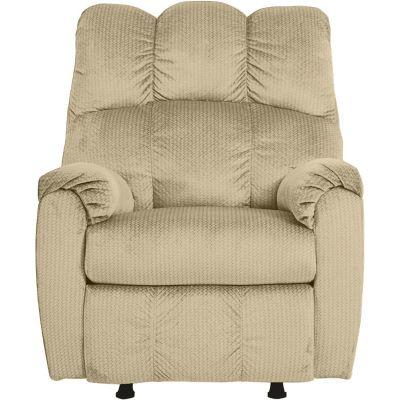 ريجل إن هاوس كرسي استرخاء و راحة كلاسيكي هزاز دوار منجد مع ظهر قابل للتحكم به - AB011R
