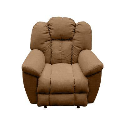 كرسي راحة واسترخاء هزاز ودوار منجد مع ظهر قابل للتحكم به - فيرساتشي