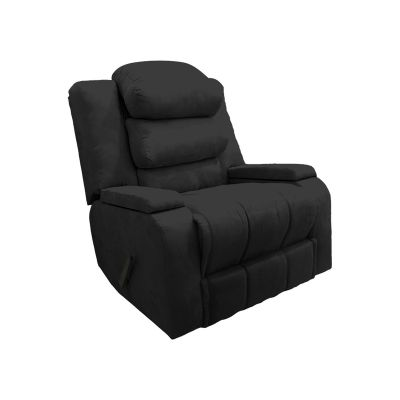 كرسي استرخاء وراحة هزاز دوار مع حاوية للتخزين و مخدات ظهر متحركة - AB07