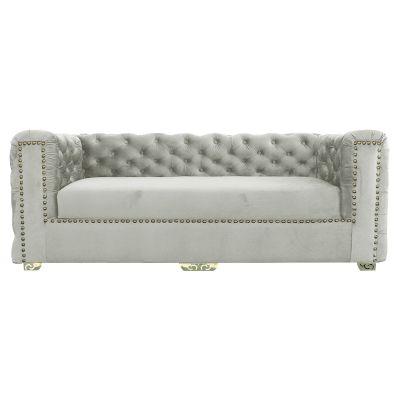 ريجل إن هاوس أريكة ثلاثية منجدة بالكتان, حجم كبير, تصميم عصري - 202 سم