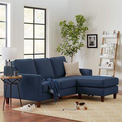 ريجل إن هاوس أريكة ثلاثية حجم كبير مع مقعد تصميم عصري - 202 سم